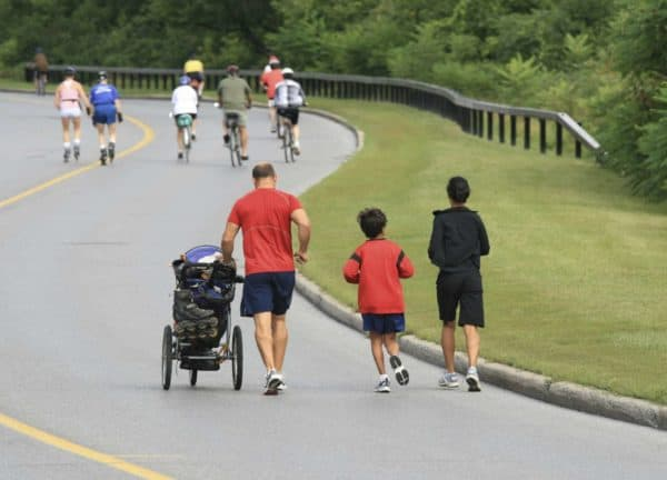Bike and Walk Trainingseinheit