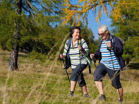 Nordic Walking im Alter